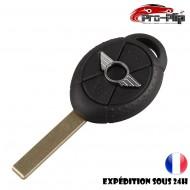 CLE PLIP pour BMW Mini Cooper S R50 R53 ONE D COQUE TELECOMMANDE @Pro-Plip