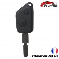 CLE PLIP pour PEUGEOT 105 205 305 405 106 206 306 406 COQUE TELECOMMANDE 2 boutons @Pro-Plip