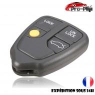 COQUE CLE PLIP pour Volvo S60 S70 S80 S90 V70 5 boutons BOITIER TELECOMMANDE @Pro-Plip
