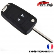 CLE PLIP OPEL Astra Insigna 2 boutons COQUE TELECOMMANDE @Pro-Plip