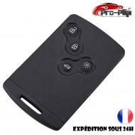 smartcard carte CLE Renault Megane Scenic Captur Laguna 4 boutons COQUE PLIP @Pro-Plip
