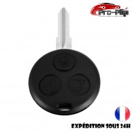CLE PLIP Smart Fortwo Forfour K Roadster City Crossblade 3 boutons COQUE @Pro-Plip