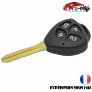 CLE PLIP Toyota Auris Hilux Camry Corolla Avensis Avalon 4 boutons COQUE @Pro-Plip