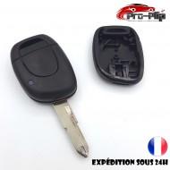 CLE PLIP RENAULT Twingo Clio Master Kangoo Espace Laguna Megane 1 bouton n°1 @Pro-Plip