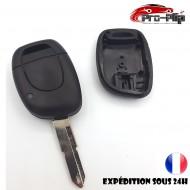 CLE PLIP RENAULT Twingo Clio Master Kangoo Espace Laguna Megane 1 bouton n°2 @Pro-Plip