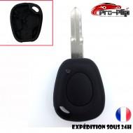 CLE PLIP Renault Master Trafic Espace Scenic 1 bouton pour pile CR1620 LAME SANS TROU @Pro-Plip