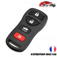 COQUE CLE INFINITI FX35 FX45 EX35 QX56 Q30 Q45 G35 I30 I35 BOITIER 4 Boutons @Pro-Plip