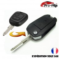 KIT DE TRANSFORMATION CLE PLIP CITROEN C1 C2 C3 C4 C5 C6 C8 2 boutons conversion @Pro-Plip