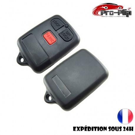 COQUE CLE PLIP TOYOTA Vios Corolla Rav4 Camry BOITIER 3 boutons PANIC TELECOMMANDE @Pro-Plip