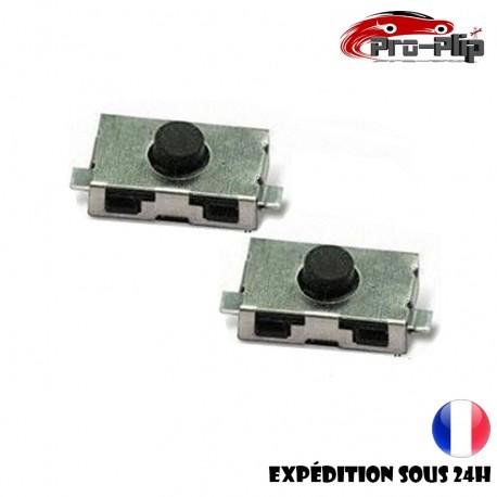 2X Switch bouton clé télécommande plip Peugeot Citroen Nissan Opel Porsche Renault Toyota Fiat Alfa Romeo @Pro-Plip