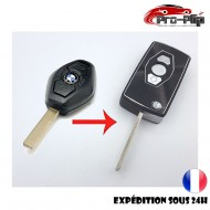 Kit de transformation CLE PLIP TELECOMMANDE BMW série 1 3 5 6 7 X3 X5 E46 E38 E39 Z3 Z5 n°1 @Pro-Plip