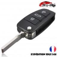 CLE PLIP AUDI A3 A4 A6 Q7 R8 RS4 RS6 S3 S4 S6 TT TTS 3 boutons COQUE @Pro-Plip