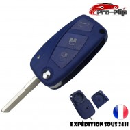 CLE PLIP pour FIAT STILO DUCATO DOBLO PANDA ULYSSE PUNTO BRAVO BRAVA modèle 3 boutons N°2 COQUE TELECOMMANDE @Pro-Plip