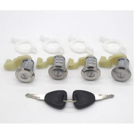 2/Llaves @ Pro-plip Kit Cerradura 4/barillets Renault Megane Scenic Clio 2/Master Thalia Opel Movano 7701472806/