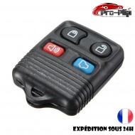 COQUE CLE PLIP pour FORD Focus Transit Connect Thunderbird Mustang Taurus 4 boutons boitier TELECOMMANDE @Pro-Plip