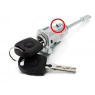 KIT Serrure + barillet portes avant droite VOLKSWAGEN Passat Golf 4 Bora Multivan Fox + clés 6L3837167/168B @Pro-Plip
