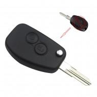 KIT DE TRANSFORMATION CLE PLIP Renault Modus Clio Kangoo Twingo Wind 2 boutons lame SANS TROU conversion @Pro-Plip
