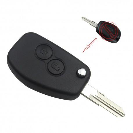 KIT DE TRANSFORMATION CLE PLIP pour OPEL ASTRA MERIVA VECTRA ZAFIRA OMEGA SIGNUM FRONTERA 3 boutons conversion @Pro-Plip