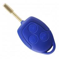 CLE PLIP FORD Transit Bleue COQUE TELECOMMANDE bleue @Pro-Plip