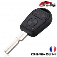 CLE PLIP pour BMW serie 3 5 6 7 X3 X5 6 7 Z3 Z4 M3 E COQUE TELECOMMANDE lame avec rainures 3 boutons @Pro-Plip