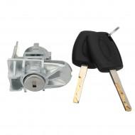 Cylindre de serrure de porte gauche de voiture pacikey cylindre de serrure de porte automatique pour Ford pour