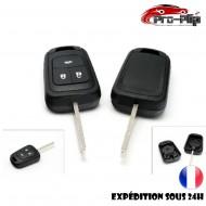 CLE PLIP pour Chevrolet Aveo 3 boutons COQUE TELECOMMANDE @Pro-Plip