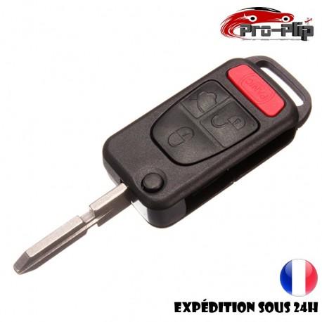 CLE PLIP pour Mercedes Benz ML SL SLK C E W COQUE TELECOMMANDE @Pro-Plip