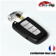 CLE PLIP pour Hyundai i10 i20 ix20 i30 ix35 i40 Santa Fe Veloster 4 boutons COQUE TELECOMMANDE @Pro-Plip