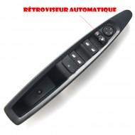 Leve Vitre rétroviseur AUTOMATIQUE avant gauche compatible Citroen C4 9 PIN 9651464577 6554.HA bouton commande @Pro-Plip