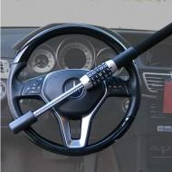 Barre Antivol pour Volant de voiture camion Blocage Canne de Sécurité renforcée à Code Protection Universelle @ProPlip