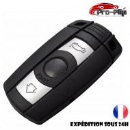 CLE PLIP pour BMW serie 1 3 5 6 E 3 boutons COQUE TELECOMMANDE @Pro-Plip