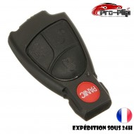 COQUE CLE PLIP pour Mercedes BenzE C R CL SL CLK SLK 4 boutons PANIC BOITIER TELECOMMANDE @Pro-Plip