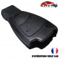 COQUE CLE PLIP pour Mercedes BenzC E CLK ML SLK S CLS B CL 2 boutons BOITIER TELECOMMANDE @Pro-Plip