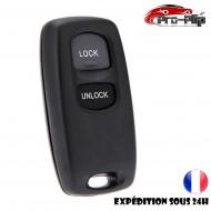 COQUE CLE PLIP pour MAZDA serie 2 3 5 6 RX8 MX-5 Ford ranger 2 boutons BOITIER TELECOMMANDE @Pro-Plip