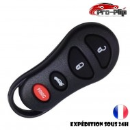 COQUE CLE PLIP pour JEEP Liberty Cherokee Grand Cherokee BOITIER 4 boutons PANIC TELECOMMANDE @Pro-Plip