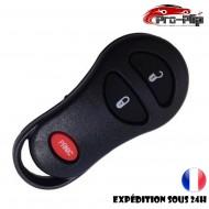 COQUE CLE PLIP pour Chrysler Voyager Dodge Dakota BOITIER 3 boutons PANIC TELECOMMANDE @Pro-Plip