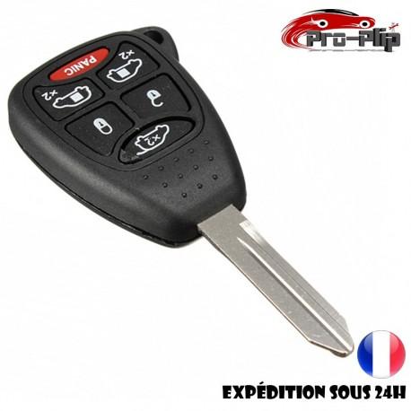 CLE PLIP pour Chrysler Town Country BOITIER 6 boutons PANIC TELECOMMANDE @Pro-Plip