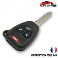 CLE PLIP pour Chrysler Sebring Asper Pacifica Cruiser BOITIER 4 boutons PANIC TELECOMMANDE @Pro-Plip