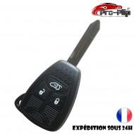 CLE PLIP pour Dodge Caliber Dajota Durango Magnum Nitro Ram BOITIER 3 boutons TELECOMMANDE @Pro-Plip