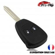 CLE PLIP pour Dodge Caliber Dajota Durango Magnum Nitro Ram BOITIER 2 boutons TELECOMMANDE @Pro-Plip