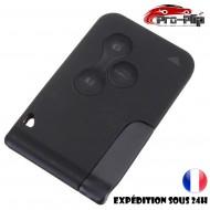 smartcard carte CLE pour Renault 3 boutons clio 3 megane 2 scenic 2 grand COQUE TELECOMMANDE PLIP @Pro-Plip
