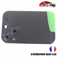 smartcard carte CLE pour Renault 2 boutons Laguna Vel Satis Espace COQUE TELECOMMANDE PLIP @Pro-Plip