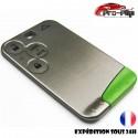 smartcard carte CLE compatible avec Renault 3 boutons Laguna Vel Satis Espace COQUE TELECOMMANDE PLIP @Pro-Plip