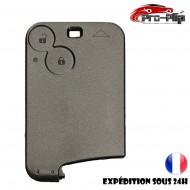 smartcard carte CLE pour Renault 2 boutons Laguna Vel Satis Espace SANS LAME COQUE TELECOMMANDE PLIP @Pro-Plip
