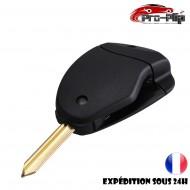 CLE PLIP pour Peugeot Expert Partner Bipper Boxer BOITIER 2 boutons TELECOMMANDE @Pro-Plip