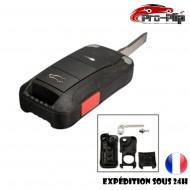 CLE PLIP pour Porsche S GT GTS GT3 Carrera Cayenne Boxster Cayman Panamera Macan 911 2 boutons + TRAFIC @Pro-Plip